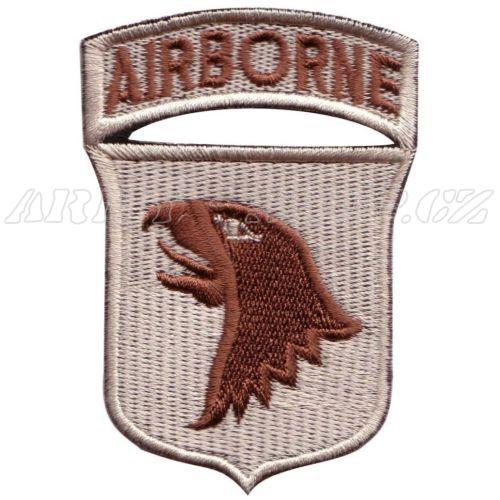 6a21c3987b7 Nášivka Airborne Pták - pouštní