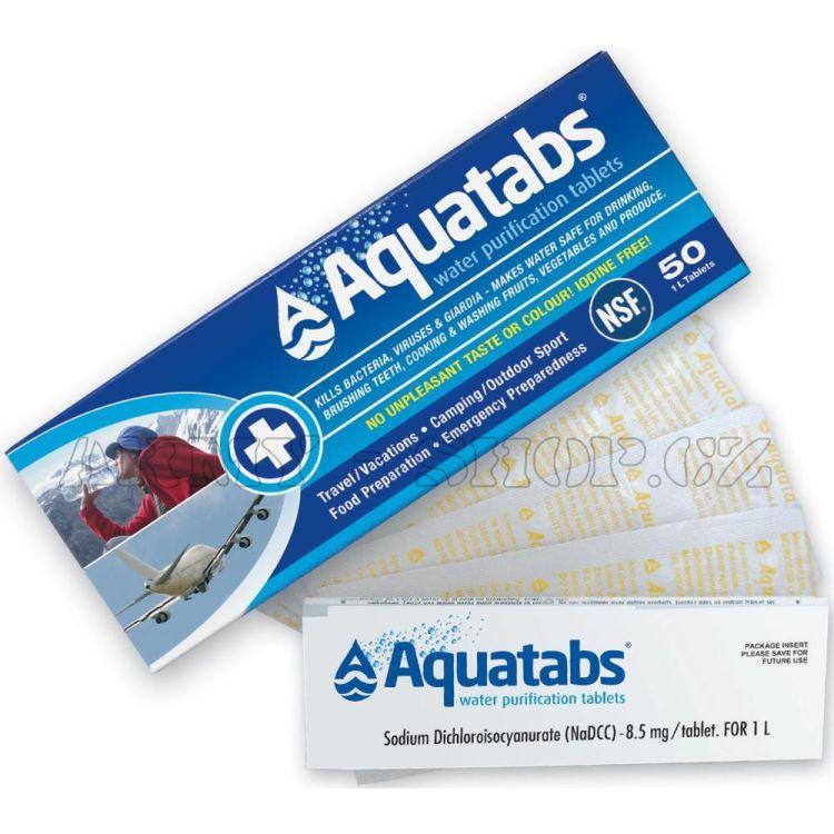Tablety na dezinfekci vody