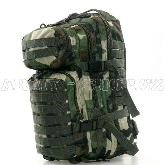 32072c2624 Batoh vojenský US ASSAULT PACK 50L - WOODLAND