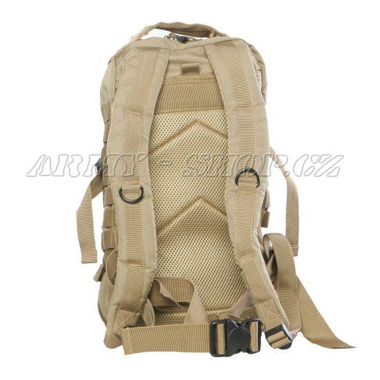 ddedecf7e1 Batoh vojenský US ASSAULT PACK 30L - béžový