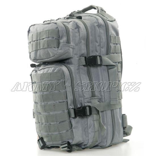 696fa83738 Batoh vojenský US ASSAULT PACK 30L - šedý