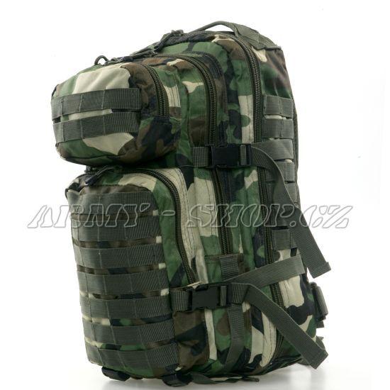 Batoh vojenský US ASSAULT PACK 30L - woodland 1c404b12a5