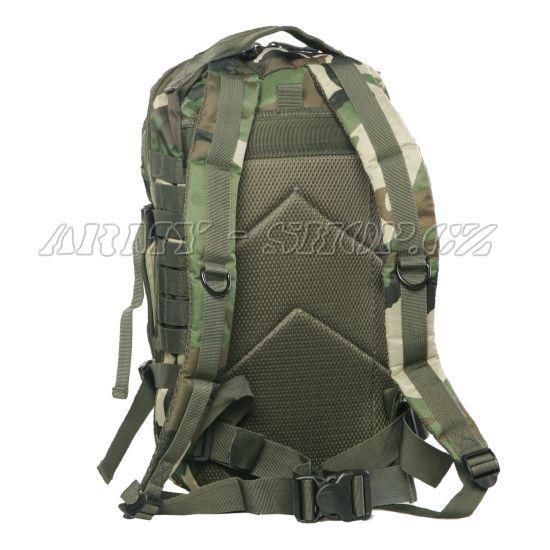 905c078042 Batoh vojenský US ASSAULT PACK 30L - woodland
