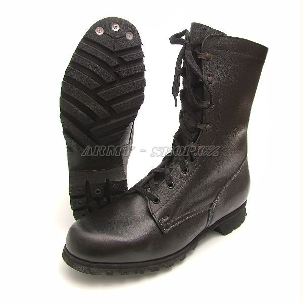 Double Buckle Black Leather Boots. Botkanad90spvelka_1285681714