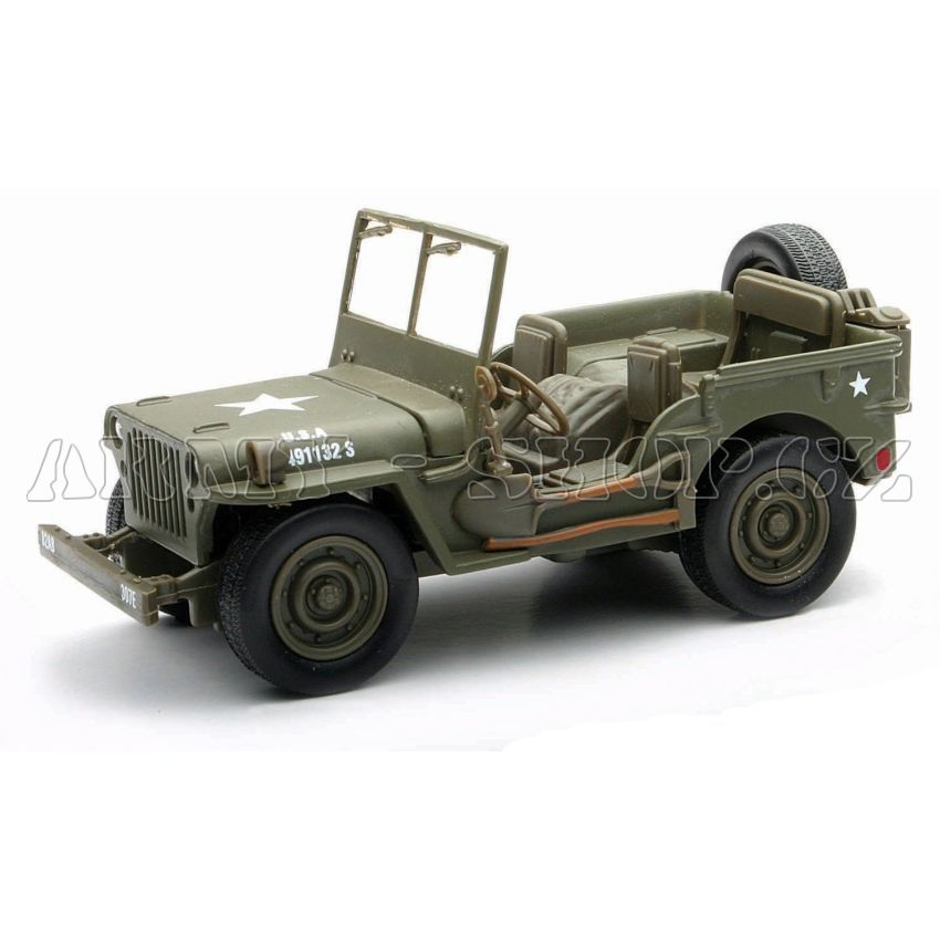 model jeep willys 1 32 army. Black Bedroom Furniture Sets. Home Design Ideas