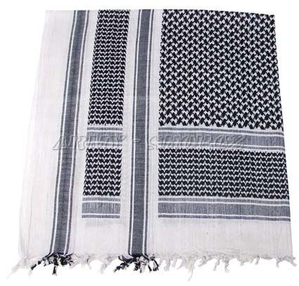 df0f04f20b9 Palestinský šátek černobílý HRUBÝ