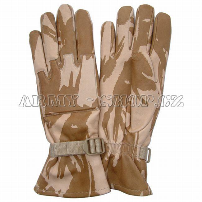 Rukavice BRITISH Desert Leather Combat  1a10b3bc24