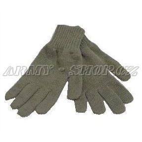 204dff0515e Rukavice zimní - AČR - OLIVOVÉ - pletené