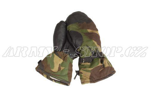 889cd815458 Zimní rukavice PALČÁKY - camo - orig. Holandsko