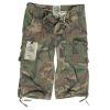 Kalhoty 3/4 AIR COMBAT woodland