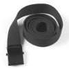 Pásek - tenký - černý
