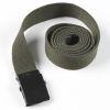 Pásek - tenký - olivový