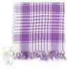 Palestinský šátek - bílofialový