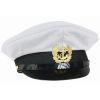 Čepice kapitánská s odznakem BÍLÁ