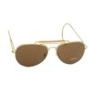 Brýle U.S. Air Force style - Hnědé