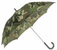 Vystřelovací maskáčový deštník - WOODLAND
