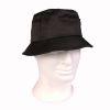 Lovecký klobouk s kapsičkou Černý