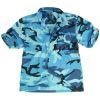 Košile maskáčová HAWAI - Sky Blue