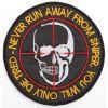 Nášivka Sniper Lebka