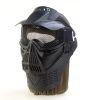 Maska MILITARY GAME černá