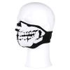 Maska obličejová SKULL 3D neopren černá