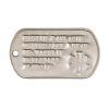 ID známka MEDICAL Stříbrná s ražbou