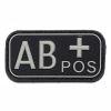 Nášivka 3D PVC AB+ positive