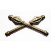 Odznak ČSLA palcát důstojnický mořený