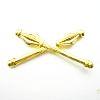 Odznak ČSLA palcát důstojnický zlatý