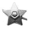 Odznak ČSLA hvězda stříbrná