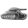 Odznak ČSLA Tankové vojsko stříbrný