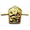 Odznak ČSLA - LEV zlatavý