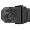 Opasek USMC tenký  UTILITY  - Černý
