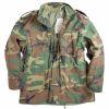 Polní bunda M65 - woodland - US ARMY - předepraná