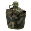 Vojenská láhev s obalem k MNS-2000 AČR vz.95 les