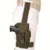 Pouzdro pistolové STEHENNÍ  MS BW  - Olivové