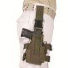 Pouzdro pistolové STEHENNÍ  NATO  - Olivové