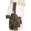 Pouzdro pistolové STEHENNÍ  PROFI  - Olivové