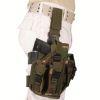 Pouzdro pistolové STEHENNÍ  PROFI  - Woodland