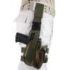 Pouzdro pistolové STEHENNÍ  KLASIC  - Woodland