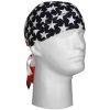 Šátek na hlavu - potisk  USA