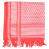 Palestinský šátek - červenobílý