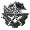 Odznak ČSLA Stavebnictvo stříbrný