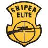 Nášivka Sniper elite puška - barevná