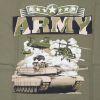 Triko olivové DESIGN ARMY 1