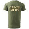 Triko s potiskem - Czech Army
