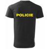 Triko s potiskem - POLICIE