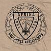 Triko s potiskem - DEUTSCHES AFRIKAKORPS - pouštní