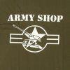 Triko  reklamní  ARMYSHOP s potiskem