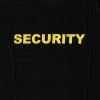 Triko s potiskem - SECURITY